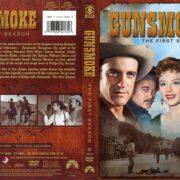 Gunsmoke Season 1 (1956) R1 DVD Cover