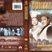 Gunsmoke Season 2 Volume 1 (2008) R1 DVD Cover
