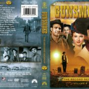 Gunsmoke Season 2 Volume 2 (2008) R1 DVD Cover
