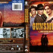 Gunsmoke Season 5 Volume 1 (2011) R1 DVD Cover