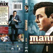 Mannix Season 1 (2008) R1 DVD Cover