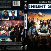 The Night Shift Season 1 (2014) R1 DVD Cover