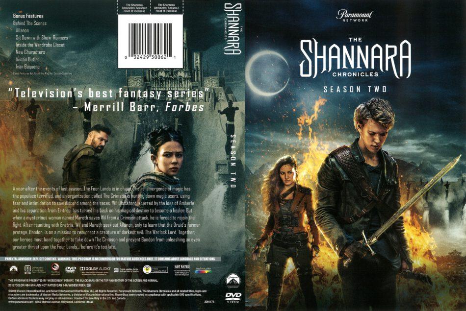 The Christmas Chronicles 2018 Dvd Cover.The Shannara Chronicles Season 2 2018 R1 Dvd Cover