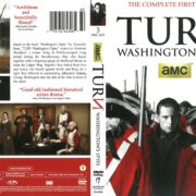 Turn: Washington's Spies Season 1 (2015) R1 DVD Cover