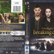 The Twilight Saga: Breaking Dawn Part 2 (2012) R1 DVD Cover