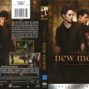 The Twilight Saga: New Moon (2010) R1 DVD Cover