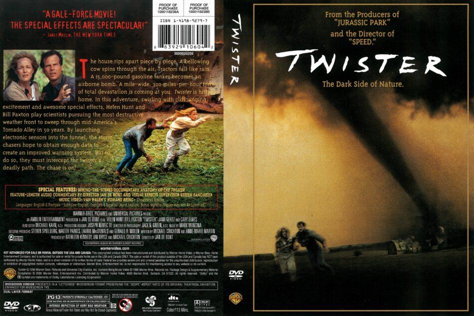 Twister 1996 R1 Dvd Cover Dvdcover Com