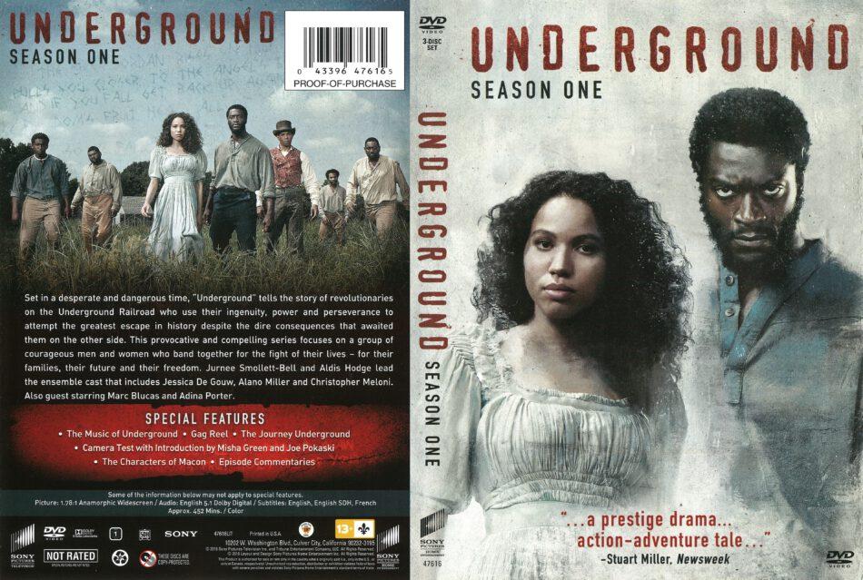b893107108b330 Underground Season 1 (2016) R1 DVD Cover - DVDcover.Com