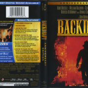 Backdraft (2011) R1 Blu-Ray Cover & Label