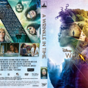 A Wrinkle in Time (2018) R1 Custom DVD Cover & Label