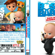 The Boss Baby: Back in Business: Season 1 (2018) R0 Custom DVD Cover