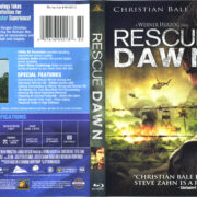 Rescue Dawn (2006) R1 Blu-Ray Cover & label