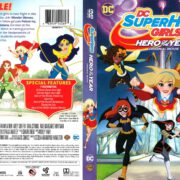 DC Superhero Girls Hero of the Year (2016) R1 DVD Cover