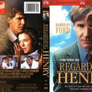 Regarding Henry (1991) R1 DVD Cover