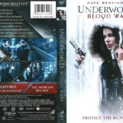 Underworld Blood Wars (2017) R1 DVD Cover