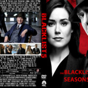 The blacklist: Season 5 (2017) R1 Custom DVD Cover