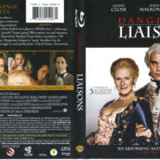 Dangerous Liaisons (1988) R1 Blu-Ray Cover & Label