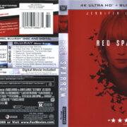 Red Sparrow (2018) R1 4K UHD Cover & Labels