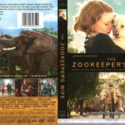 The Zookeeper's Wife (2017) R1 DVD Cover