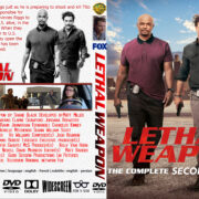 Lethal Weapon: Season 2 (2018) R1 Custom DVD Cover