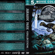 Jurassic Park Collection (5) (1993-2018) R1 Custom DVD Cover