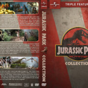 Jurassic Park Triple Feature (1993-2001) R1 Custom DVD Cover