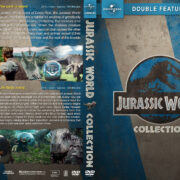 Jurassic World Double Feature (2015-2018) R1 Custom DVD Cover