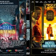 Hotel Artemis (2018) R1 CUSTOM DVD Cover & Label