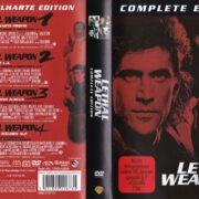 Lethal Weapon 1-4 (2014) R2 German DVD Cover