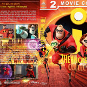 The Incredibles Collection (2004-2018) R1 Custom Blu-Ray Cover & Labels