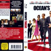 Ocean's Twelve (2004) R2 German Blu-Ray Covers & Label