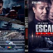 Escape Plan 2 : Hades (2018) R1 CUSTOM DVD Cover & Label
