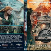 Jurassic World : Fallen Kingdom (2018) R0 Custom DVD Cover & Label