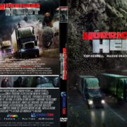 The Hurricane Heist (2018) R1 CUSTOM DVD Cover & Label