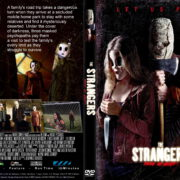 The Strangers : Prey At Night (2018) R0 CUSTOM DVD Cover & Label