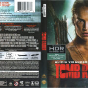 Tomb Raider (2018) R1 Blu-Ray Cover & Labels