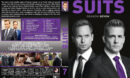 Suits - Season 7 (2018) R1 Custom DVD Cover & Labels