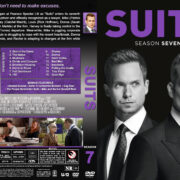Suits - Season 7 (2018) R1 Custom DVD Cover & Labels