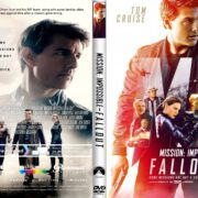 Mission Impossible : Fallout (2018) R1 CUSTOM DVD Cover & Label