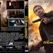 The Equalizer 2 (2018) R1 CUSTOM DVD Cover & Label