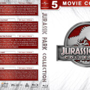 Jurassic Park Collection (5) (1993-2018) R1 Custom Blu-Ray Cover