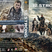 12 Strong (2018) R1 Custom DVD Cover & Label