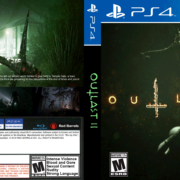 Outlast 2 (2018) PS4 Custom Cover
