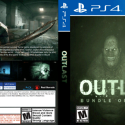 Outlast (2018) PS4 Custom Cover