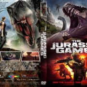 The Jurassic Games (2018) R2 CUSTOM DVD Cover & Label
