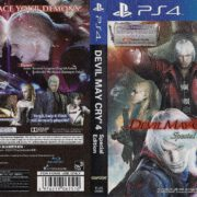 Devil May Cry 4 Special Edition (2018) ASIAN PS4 Cover