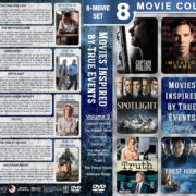 Movies Inspired by True Events – Volume 2 (2013-2016) R1 Custom DVD Cover