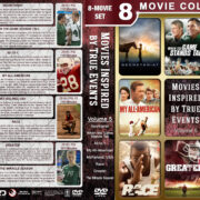 Movies Inspired by True Events – Volume 5 (2010) R1 Custom DVD Cover