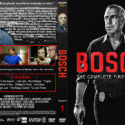 Bosch - Season 1 (2014) R1 Custom DVD Cover & Labels