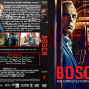 Bosch – Season 4 (2018) R1 Custom DVD Cover & Labels